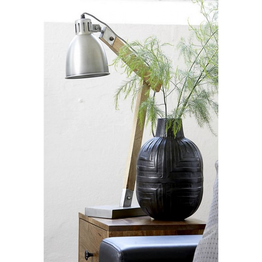 Canett Zink Base Bordlampe