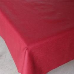 Hør Akryldug Elver Rød 140 cm Bred