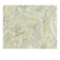 Madras Lysegrøn m/paisley 70x190 cm