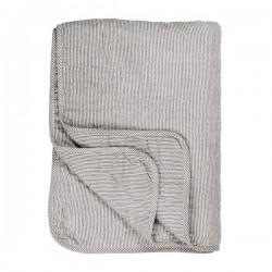 Ib Laursen Quiltet Vattæppe Mælkedrengestrib 130X180 cm