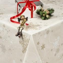 Jule Voksdug Frosty 140 cm Bred