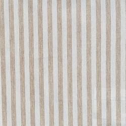 Akryldug Stripe Beige/Hvid 140cm Bred